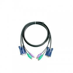Aten Technologies - 2L5003P - Aten Micro-Lite PS/2 KVM Cable - 10ft