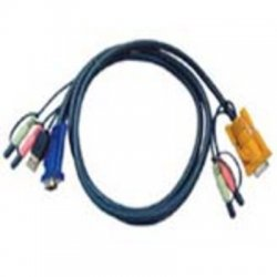 Aten Technologies - 2L5302U - Aten KVM USB Cable with Audio - 5.9ft