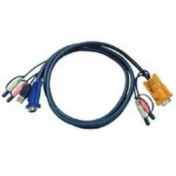 Aten Technologies - 2L5303U - Aten KVM Cable with Audio - 9.84ft