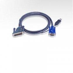 Aten Technologies - 2L5602UP - Aten USB KVM Cable - 6ft