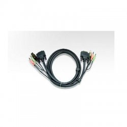 Aten Technologies - 2L-7D05U - Aten DVI KVM Cable - 16.4ft