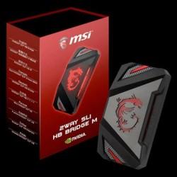 MSI - 2WAY SLI HB BRIDGE M - Video Card Accessory 2WAY SLI HB BRIDGE M Only Support GeForce GTX1070 and GeForce GTX1080 Video Card Retail