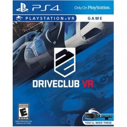 Sony - 3001642 - Sony DRIVECLUB VR - Racing Game - PlayStation 4