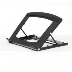 Allsop - 31660 - Allsop TriTilt Adjustable Laptop/Tablet Stand - 3.10 lb Load Capacity - 8.9 Width x 1.3 Depth - Desktop - Steel - Black