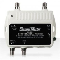 Channel Master - 3412 - 2 Port Distribution Amplifier