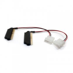 Aleratec - 350116 - Aleratec IDE SATA 2.5IN to 3.5IN IDE Hard Drive Adapter 2 - 2 Pack - 1 x Male IDE - 1 x Female IDE