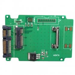 Aleratec - 350118 - Aleratec mSATA SSD Adapter - 2