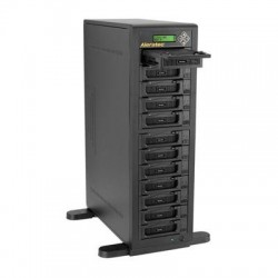 Aleratec - 350124 - Aleratec 1:11 HDD Copy Cruiser IDE/SATA - 11 HDD Duplicator and 12 HDD Sanitizer
