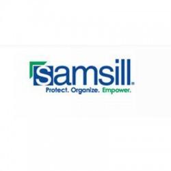 Samsill - 36307 - Altego Polygon Carrying Case (Backpack) for 17 Notebook - Shoulder Strap