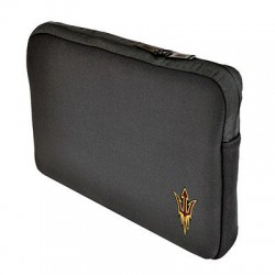 Samsill - 36511AZST - Altego Carrying Case (Sleeve) for 13 Notebook - Black - Neoprene - Arizona State Embroidered Logo