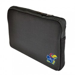 Samsill - 36512KSU - Altego Carrying Case (Sleeve) for 15 Notebook - Black - Neoprene - University of Kansas Embroidered Logo