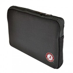 Samsill - 36512UAL - Altego Carrying Case (Sleeve) for 15 Notebook - Black - Neoprene - University of Alabama Crimson Tide Embroidered Logo