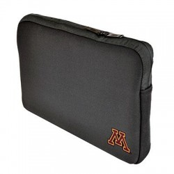 Samsill - 36512UMN - Samsill Carrying Case (Sleeve) for 15 Notebook - Black - Neoprene - University of Minnesota Embroidered Logo