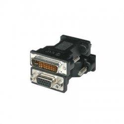 C2G (Cables To Go) - 38062 - C2G M1 Male to HD15 VGA Female Adapter - 1 x M1-A Male - 1 x HD-15 Female - Black