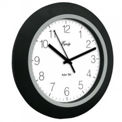 La Crosse Technologies - 40222B - 10 Insta-set Wall Clock