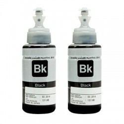 Aleratec - 410106 - Aleratec RoboJet AutoPrinter Ink, Black, 2-Pack - Inkjet - Black - 2 Pack