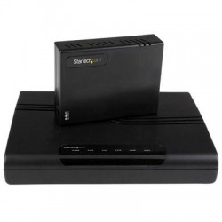 StarTech - 410VDSLEXT2 - StarTech.com 1 Port to 4 Port VDSL2 Ethernet Extender Kit Over Single-pair Wire - 10/100Mbps - 1km