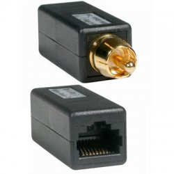 C2G (Cables To Go) - 41153 - C2G RCA Male to RJ45 Female Video Balun - 1 x RCA Male - 1 x RJ-45 Female - Black