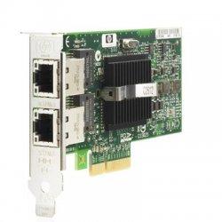 Hewlett Packard (HP) - 412648-B21 - HP NC360T PCI Express Dual Port Gigabit Server Adapter - PCI Express x4 - 2 x RJ-45 - 10/100/1000Base-T