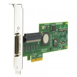 Hewlett Packard (HP) - 412911-B21 - HP SC11Xe Single Channel Ultra 320 SCSI Controller - PCI Express x4 - Up to 320MBps - 1 x 68-pin VHDCI (mini-Centronics) Ultra320 SCSI - SCSI External, 1 x 68-pin HD-68 Ultra160 SCSI - SCSI Internal