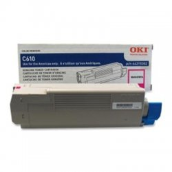 Okidata - 44315302 - Oki Toner Cartridge - LED - 6000 Page - 1 Each