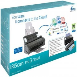 IRIS - 457893 - IRIS IRIScan Pro 3 Cloud Sheetfed Scanner - 600 dpi Optical - High-speed desktop scanner 24-bit Color - USB