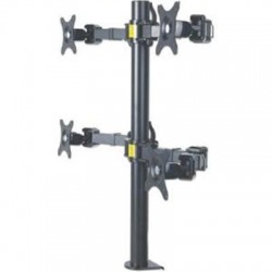 IC Intracom - 461122 - Manhattan 461122 Desk Mount for Monitor - 30 Screen Support - 96 lb Load Capacity