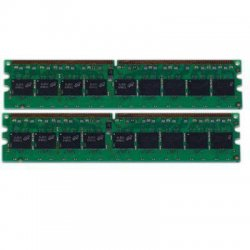 Hewlett Packard (HP) - 461840-B21 - HP 4GB DDR2 SDRAM Memory Module - 4 GB (2 x 2 GB) - DDR2 SDRAM - 667 MHz DDR2-667/PC2-5300 - ECC - Registered - 240-pin - DIMM
