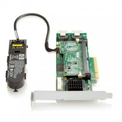 Hewlett Packard (HP) - 462864-B21 - HP Smart Array P410 8-Port SAS RAID Controller - 512MB ECC DDR2 SDRAM - PCI Express x8 - 300MBps - 2 x Mini-SAS SAS 300 - Serial Attached SCSI Internal