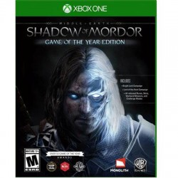 Warner Brothers - 1000568292 - WB Middle-Earth Shadow of Mordor: Game of the Year Edition - Action/Adventure Game - Xbox One