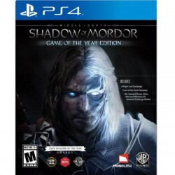 Warner Brothers - 1000568294 - WB Middle-Earth Shadow of Mordor: Game of the Year Edition - Action/Adventure Game - PlayStation 4