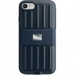 BodyGuardz - 4C120-API70-9C0 - LANDER Powell Case for Apple iPhone 7 - iPhone 7 - Blue - Textured Edges - Thermoplastic Polyurethane (TPU), Polycarbonate