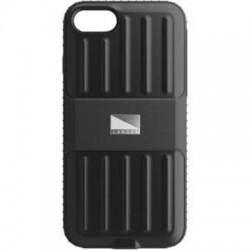 BodyGuardz - 4C1B0-API70-9C0 - LANDER Powell Case (Black) for Apple iPhone 7 - iPhone 7 - Black - Coined Back - Polycarbonate, Thermoplastic Polyurethane (TPU)