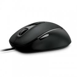 Microsoft - 4FD-00025 - Microsoft Comfort Mouse 4500 - BlueTrack - Cable - USB - 1000 dpi - Computer - Tilt Wheel - 5 Button(s) - Symmetrical