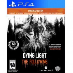 Warner Brothers - 1000590631 - Take-Two Dying Light: The Following - Enhanced Edition - Role Playing Game - PlayStation 4