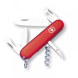 "Victorinox / Swiss Army - 53151 - Victorinox Spartan Multipurpose Tool - 3.6"" Length - Red - Key Ring"