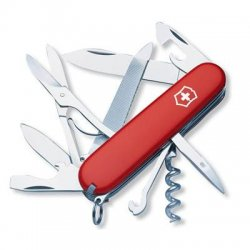 "Victorinox / Swiss Army - 54821 - Victorinox Swiss Army Mountaineer Multipurpose Tool - 3.5"" Length - Key Ring"