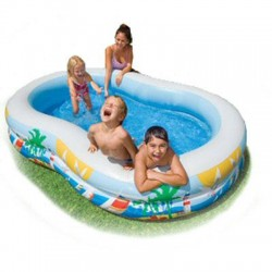 Intex - 56490EP - SwimCenter Paradse Seasde Pool