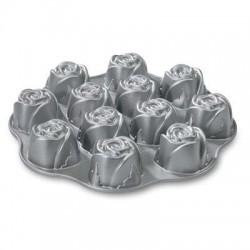 Nordic Ware - 56748 - NW Sweetheart Rose Muffin Pan