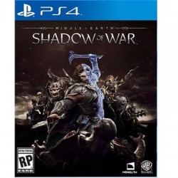 Warner Brothers - 1000640755 - WB Middle-earth: Shadow of War - Action/Adventure Game - PlayStation 4