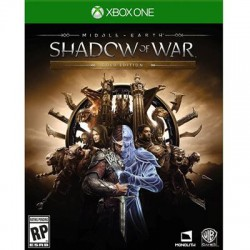 Warner Brothers - 1000640758 - WB Middle-earth: Shadow of War Gold Edition - Action/Adventure Game - Xbox One