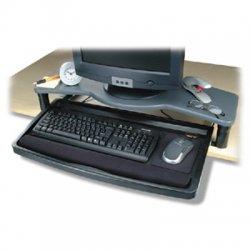 Kensington - 60006 - Kensington 60006 Desktop Keyboard Drawer - 0.5 Height x 26 Width x 13.5 Depth - Putty