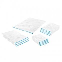 Whitmor - 6115-7218-CB - Whitmor Storage Bag - Large, Medium, Small, Jumbo Size - Clear - Nylon - 12/Set - Storage