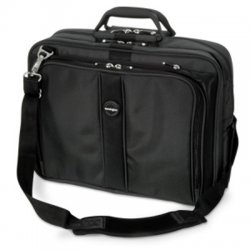 "Kensington - K62340C - Kensington Contour K62340C Carrying Case for 17"" Notebook - Black - Ballistic Nylon - Handle, Shoulder Strap - 13"" Height x 17.5"" Width x 8.5"" Depth"