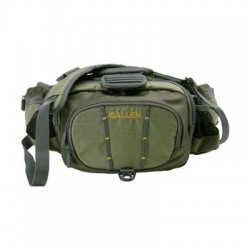 Ray Allen - 6332 - Allen Eagle River Carrying Case (Waist Pack) for Accessories, Bottle, Fly Box, Tackle Box - Olive - Wear Resistant - Neck Strap, Waist Strap