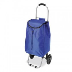 Whitmor - 6342-4647-BLUE - Whitmor Carrying Case (Roller) for Sports Equipment, Clothing, Grocery - Blue - Water Proof - Metal - Handle