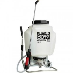 Chapin - 63900 - Backpack Sprayer, Polyethylene Tank Material, 4 gal., 120 psi Max Sprayer Pressure