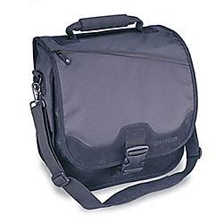 Kensington - 64079 - Kensington SaddleBag Carrying Case for Notebook - Black - Water Resistant - Nylex - Handle, Shoulder Strap, Backpack - 6.5 Height x 16.5 Width x 14.3 Depth