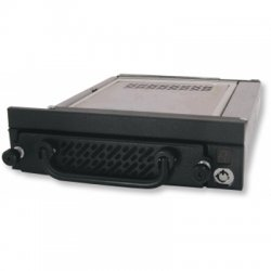 "CRU / Wiebetech - 6466-7101-0500 - CRU Data Express DE275 Hard Drive Enclosure - 1 x 3.5"" - 1/3H Internal Hot-swappable - Internal - Black"