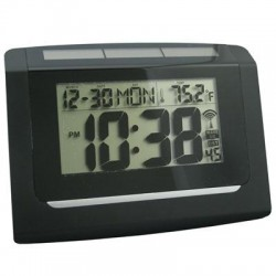 La Crosse Technologies - 65906 - ELC Solar Atomic Wall Clock